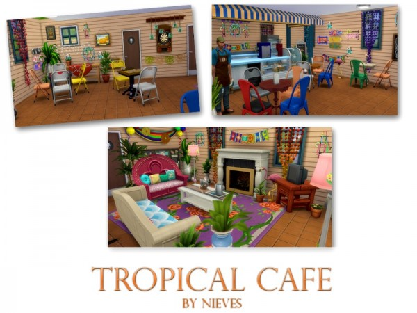 The Sims Resource: Tropical cafe by nie ves