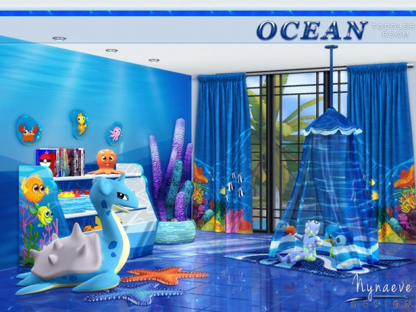 The Sims Resource Ocean Toddlers By Nynaevedesign Sims