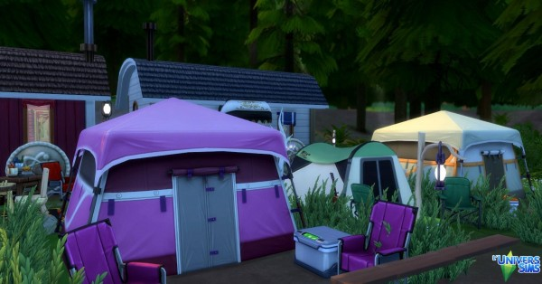 Luniversims: Camping and Gypsies by Coco Simy