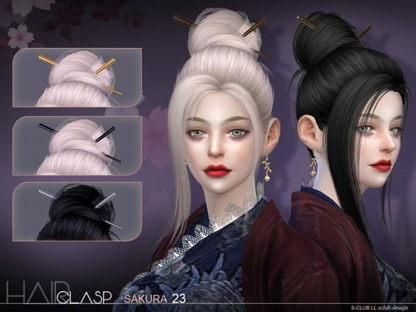 The Sims Resource: Hair clasp bu S Club