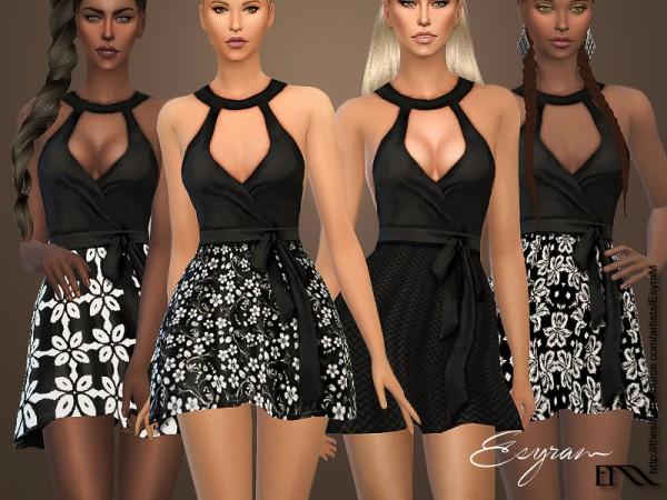 The Sims Resource: Amelia Dress by EsyraM
