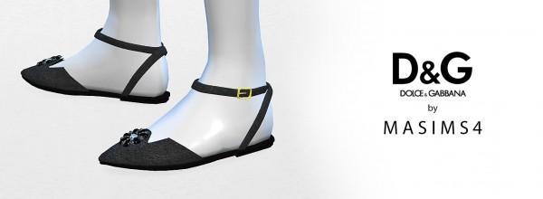 MA$ims 3: Flat sandals