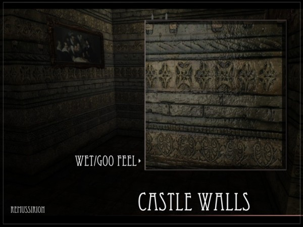The Sims Resource: Castle Walls by RemusSirion