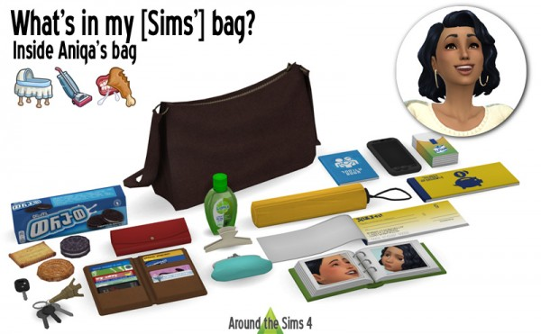 Around The Sims 4 What S In My Bag Sims 4 Downloads