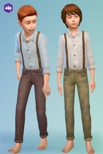 Blackys Sims 4 Zoo: Outfit by mammut