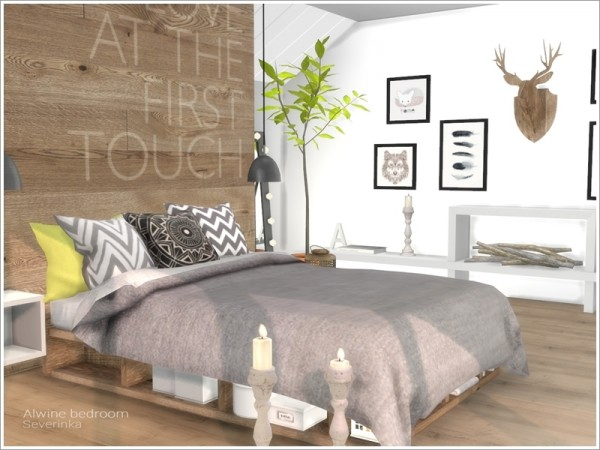 The Sims Resource: Alwine bedroom by Severinka