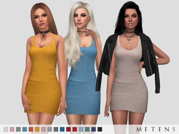 The Sims Resource: Amber Dress by Metens