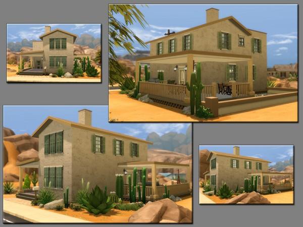 The Sims Resource: Cactus Flower house by matomibotaki