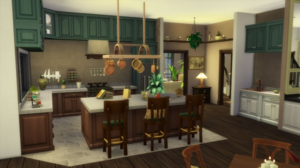 Sims Artists: Colonial style deco notebook