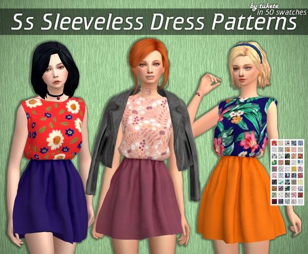 Tukete: Sleeveless Dress Patterns