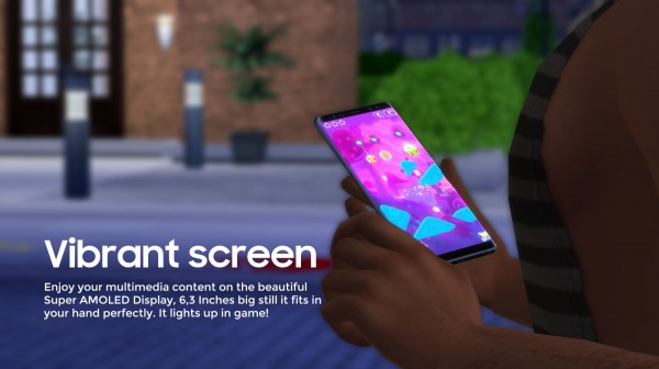 Mod The Sims: Samsung GALAXY Note8 by littledica