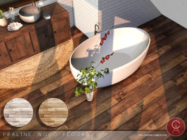 The Sims Resource: Wood Floors by Pralinesims