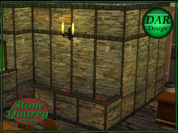 The Sims Resource: Stone Quarry Panels by Alan In Lowell