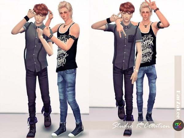Studio K Creation: Couple Pose Set CP04   friends