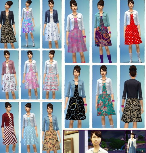 Birkschessimsblog: Denim Jacket Dress