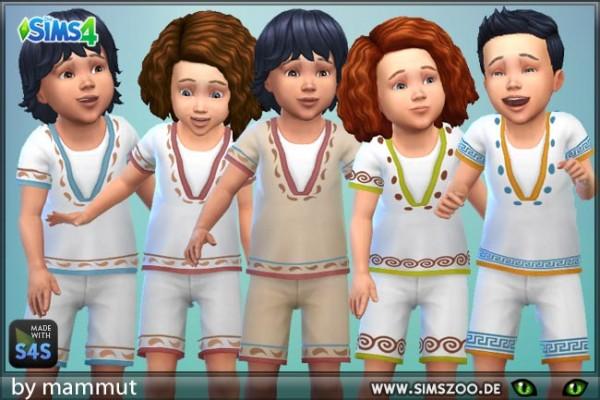 Blackys Sims 4 Zoo: Shirt Shorts 2 EarlyCiv by mammut
