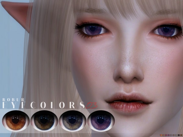 The Sims Resource: Eyecolors 03 by Bobur