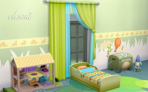 OleSims: Set of curtains