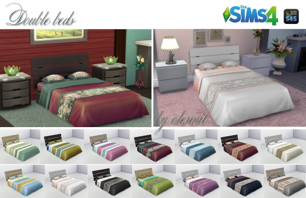 OleSims: Double beds