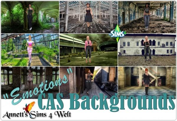 Annett`s Sims 4 Welt: CAS Backgrounds Emotions
