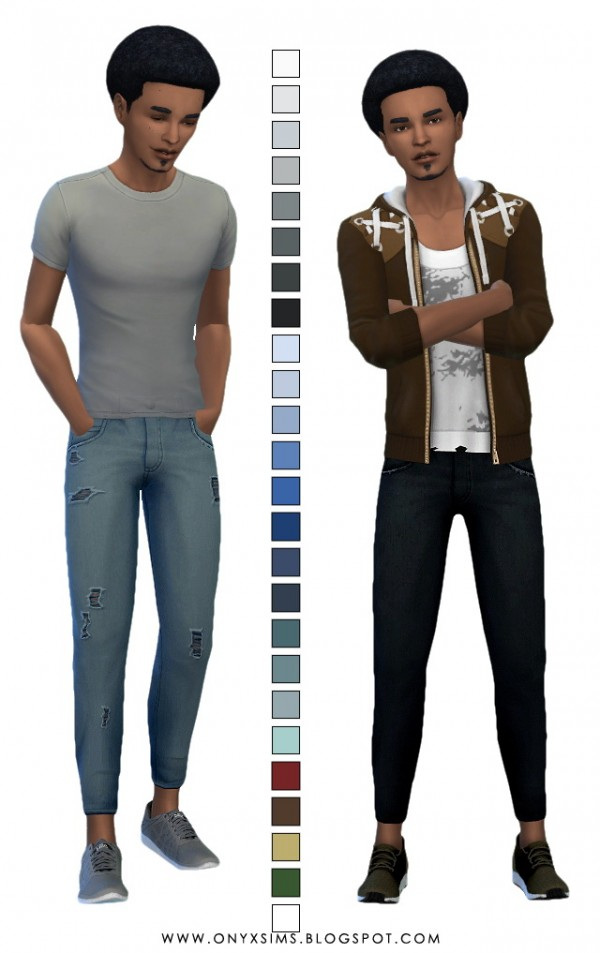 Onyx Sims: Relaxed Skinny Jeans