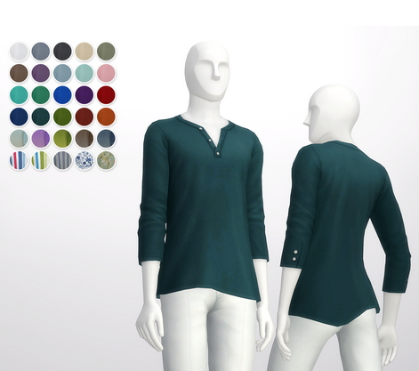 Rusty Nail: Half sleeve Henley Neck t shirt