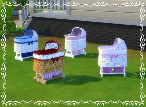 Birkschessimsblog Baby Bassinet Sims 4 Downloads