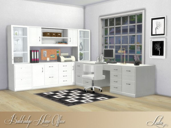 The Sims Resource: Baldridge Home Office by Lulu265