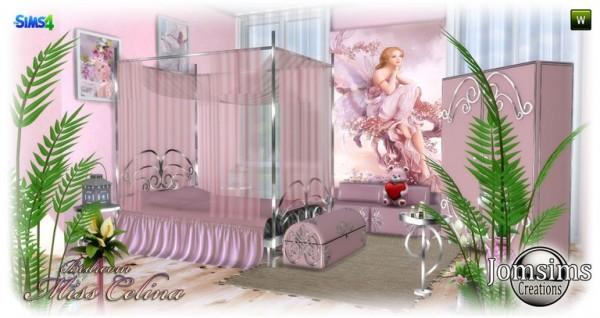 Jom Sims Creations: Miss celina bedroom