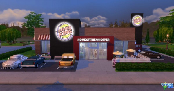 Luniversims Burger King By Audrcami Sims 4 Downloads