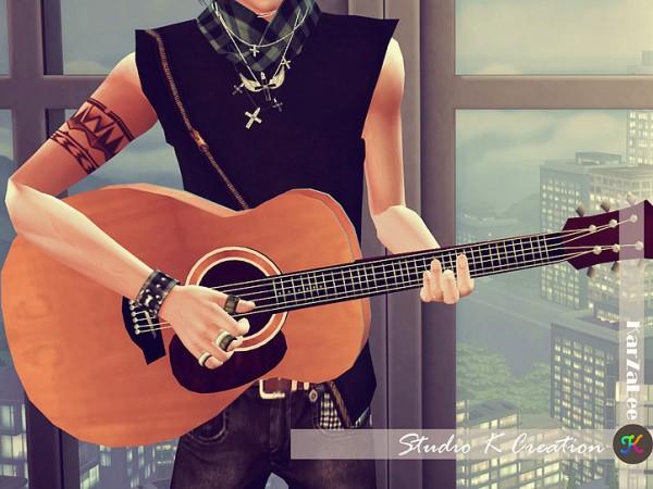 Studio K Creation: Basic handle guitar