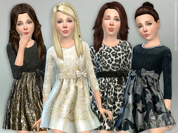 The Sims Resource: Designer Dresses Collection P88 by lillka