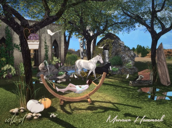 Sims 4 Designs: Muranos Hammock