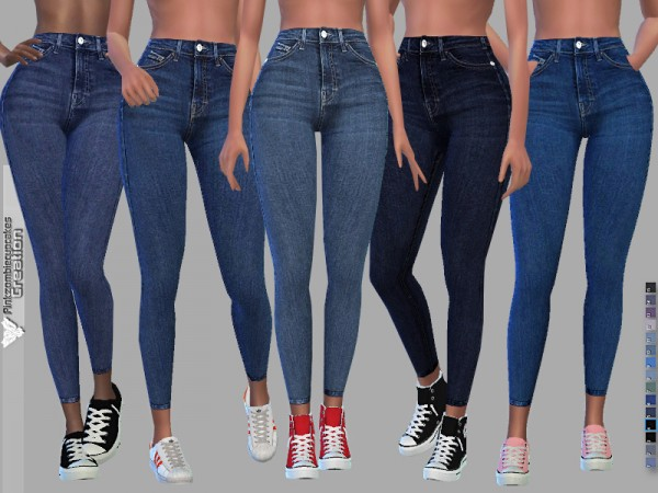 The Sims Resource: Madison jeans by Pinkzombiecupcakes