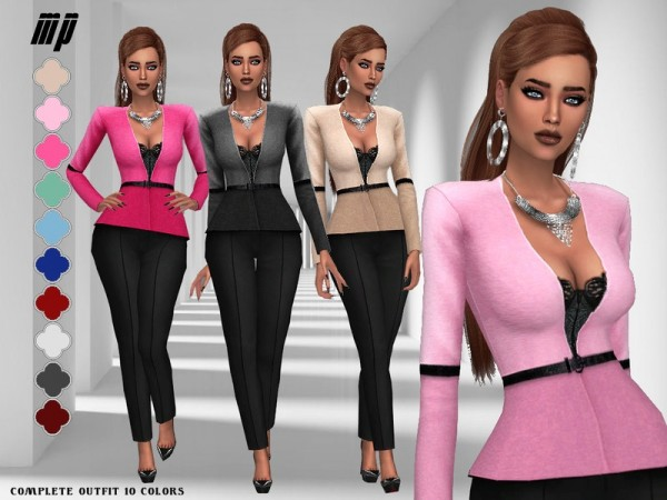 The Sims Resource: Alexanders Outfit by MartyP