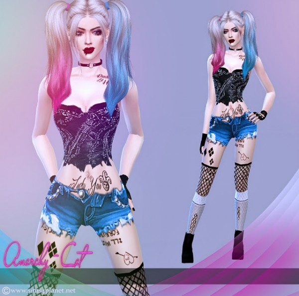 Anarchy Cat: Clothing for females 64