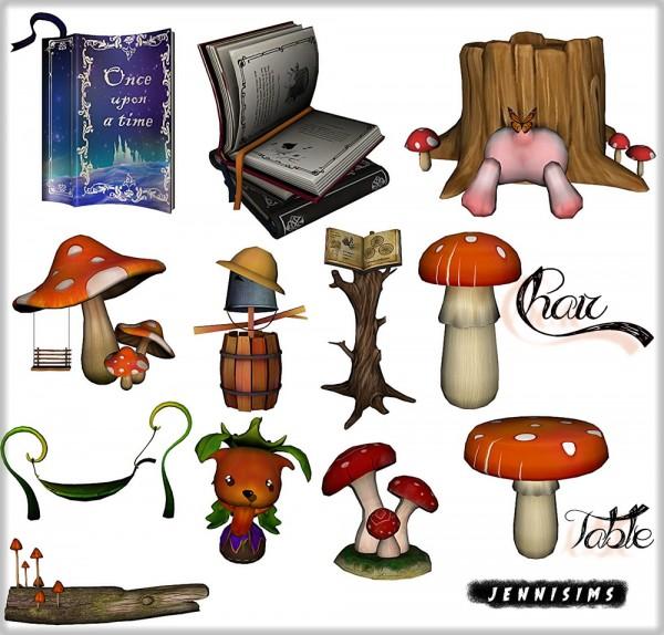Jenni Sims: Table, Chair Mushroom set 73