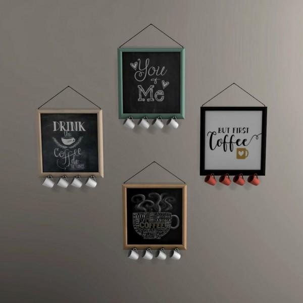 Leo 4 Sims: Coffee Board