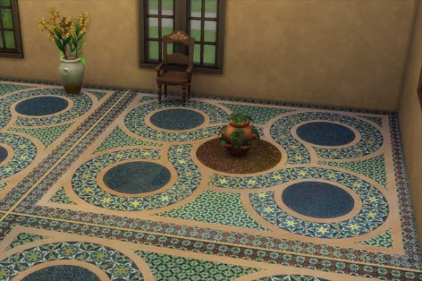 Blackys Sims 4 Zoo: Floor Sicily 2 by mammut