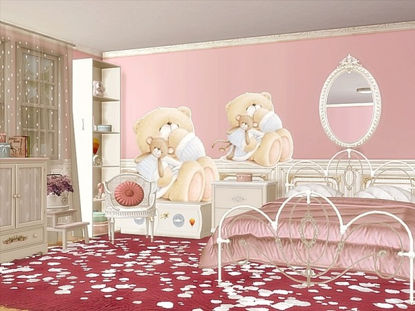 The Sims Resource: Baby Room   Wall Decals by Danuta720