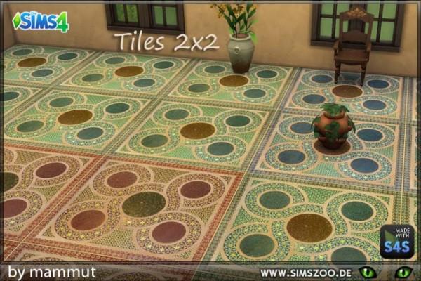 Blackys Sims 4 Zoo: Floor Sicily 1 by mammut