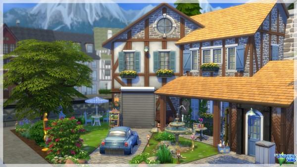 Luniversims: Corinne house by chipie cyrano