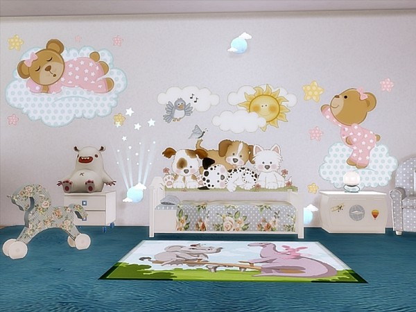 The Sims Resource Baby Room Wall Decals By Danuta720