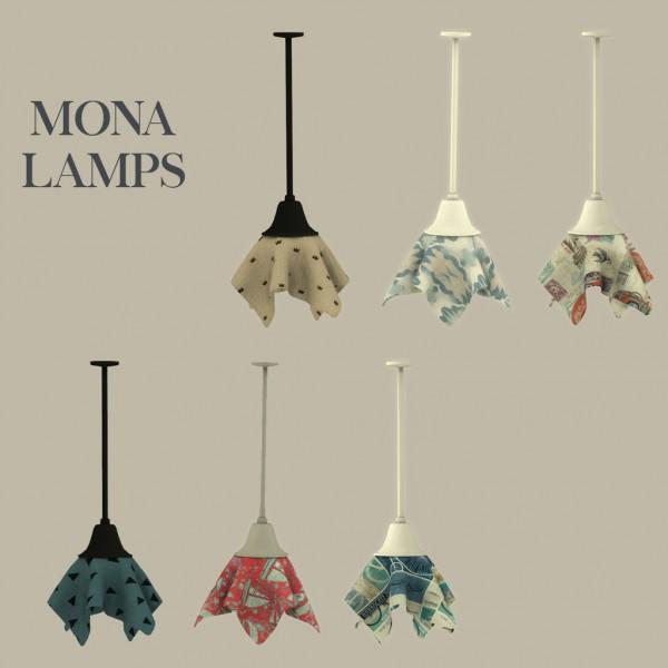 Leo 4 Sims: Mona lamp