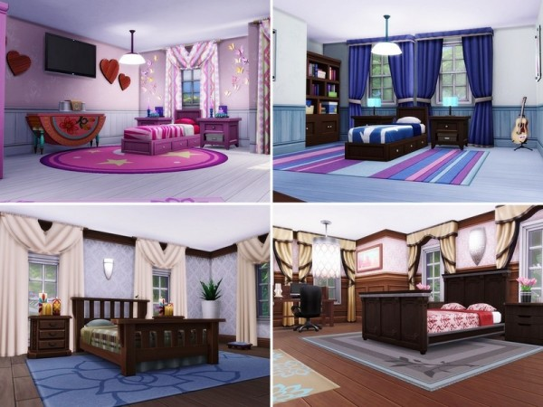The Sims Resource: Quiet Alley house by MychQQQ