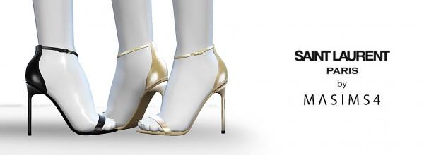 MA$ims 3: Amber Sandals