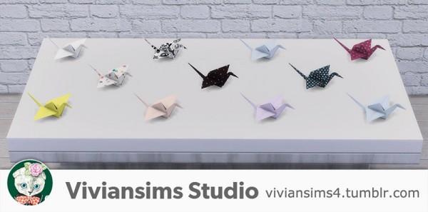 Vivian Sims: Paper birds