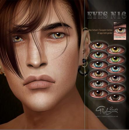Tifa Sims: Eyes N16