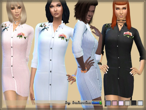 The Sims Resource: Dress Shirt by bukovka