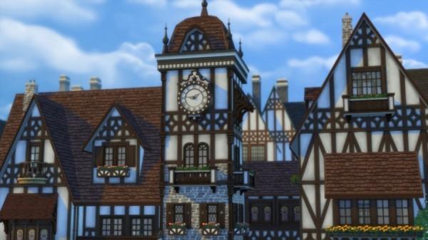 Sims Artists: Place de lHorloge: shops